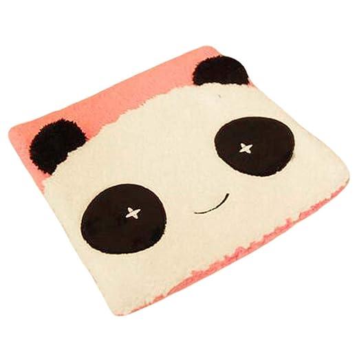 2 Piezas Pink Panda Oficina Silla Almohadillas Felpa Suave ...