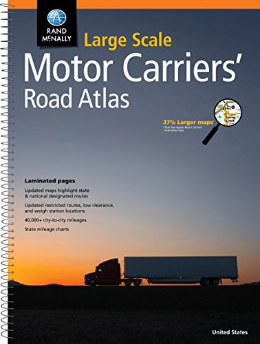 Rand McNally Large Scale Motor Carriers' Road Atlas ()