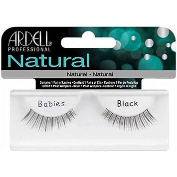 f6a6477134f Amazon.com : Ardell Invisiband Lashes, Babies Black, 1 Pair (Pack of 3) :  Fake Eyelashes And Adhesives : Beauty