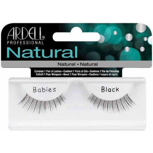 Ardell Invisiband Lashes, Babies Black, 1 Pair (Pack of 3)