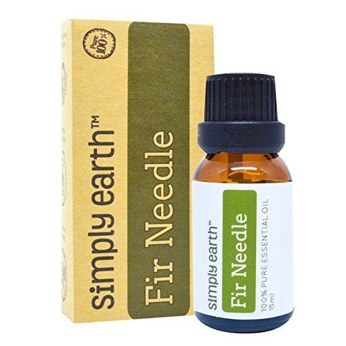 Fir Needle Essential Oil by Simply Earth - 15 ml, 100% Pure Therapeutic Grade (Natural Scotch Guard compare prices)