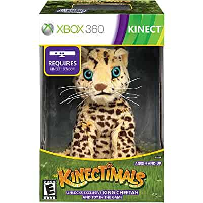 Amazon Com Kinectimals Limited Edition Bundle With King