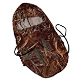 Wildfowler Outfitter Camo Head/Neck Cover Warmer, One size fits most, Wildgrass