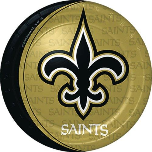 Hallmark New Orleans Saints Dinner Plates (8) ()