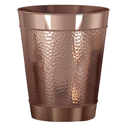 nu steel HSC8H Hudson Wastebasket, Copper (Copper Wastebasket)