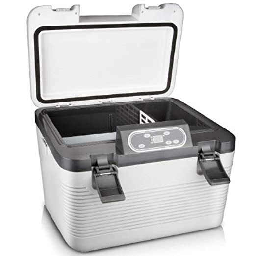 19L Refrigerador para autos Compresor Congelador- Nevera eléctrica ...