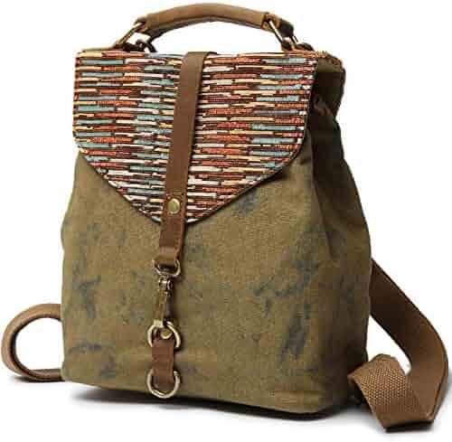 Kemy s Girls Canvas Backpack Purse Marble Daypacks Bags Small School  Bookbag Travel Handbag for Traveling b7895d22ca58c