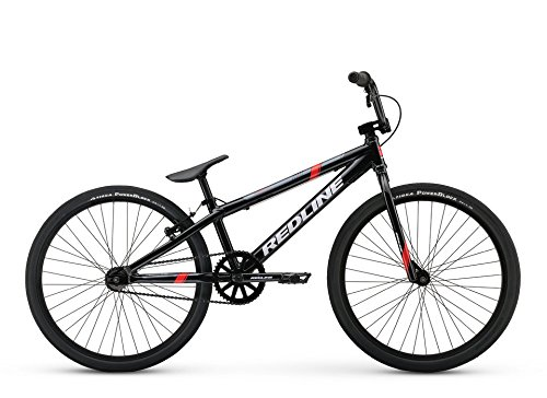 Redline MX24 24 Inch Wheel BMX Bicycle, Black