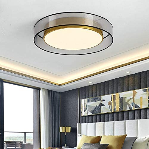 Round-Shaped Ceiling Lighting Modern Ceiling Lamp Dimmable LED Ceiling Light with Remote Control Ø45cm18W Metal Ceiling Lights Bedroom Dining Room Living Room Bathroom Lighting