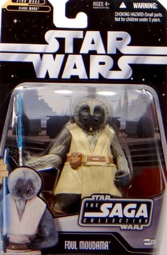 Basic Figure Star Wars Foul Moudama Hasbro 87009 The Saga Collection Episode III Revenge of the Sith