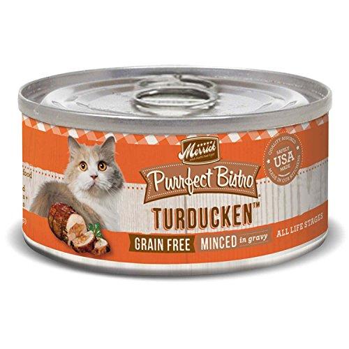 Merrick Purrfect Bistro Grain Free, 5.5 oz, Turducken - Pack of 24