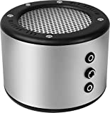 MINIRIG 2 Portable Rechargeable Bluetooth Speaker - 80 Hour Battery - Premium Stereo Sound - Silver