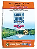 Natural Balance Small Breed Bites L.I.D. Limited Ingredient Diets Dry Dog Food - Grain Free - Sweet Potato & Fish Formula - 12-Pound