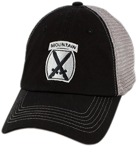 399ce46a8b1 U.S. Army 10th Mountain Division Mesh-Back Contrast Cap
