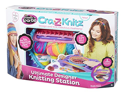 Ultimate Knitting Quiz : Cra z knitz knitting station neon deluxe buy online in