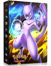 Album for Pokemon Cards, Pokemon Trading Card Protector Sleeves, Pokemon Card Holder Binder, Album Binder for Pokemon Card, Hold 240 Cards / Dragonite