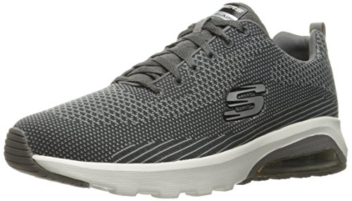 Char Air Fitness Trainers Men's Extreme Skechers Grey Grigio Skech 0q5pwxI7