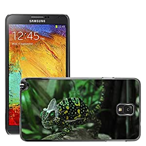 Hot Style Cell Phone PC Hard Case Cover // M00130089 Chameleon Reptile Animal Green // Samsung Galaxy Note 3 III N9000 N9002 N9005