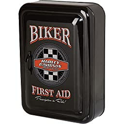 Harley-Davidson Biker First Aid Key Cabinet