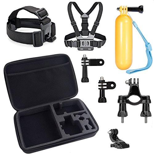 VVHOOY Universal Action Camera Outdoor Sports Kit for DBPOWER EX5000/AKASO EK5000/Lightdow LD6000/Vtin 4k Action Camera Accessories VVHOOY