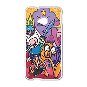 Happy Aadventure time Case Cover For HTC M7