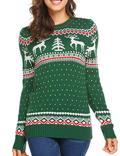 UNibelle Fireplace Lovely Sweater for Christmas Best Gift -