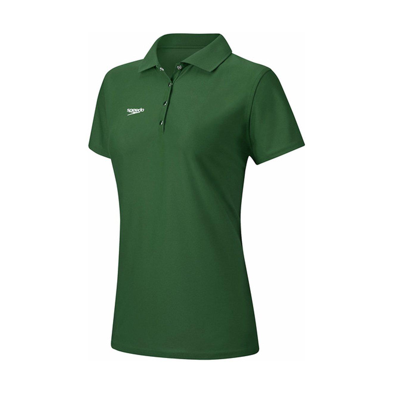 Speedo Women\'s Team Polo at Amazon Women\'s Clothing store:
