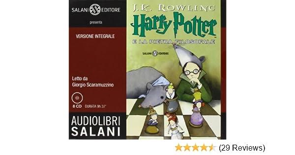 Come Si Dice Letto A Castello In Inglese.Harry Potter E La Pietra Filosofale Audiolibro 8 Cd Audio