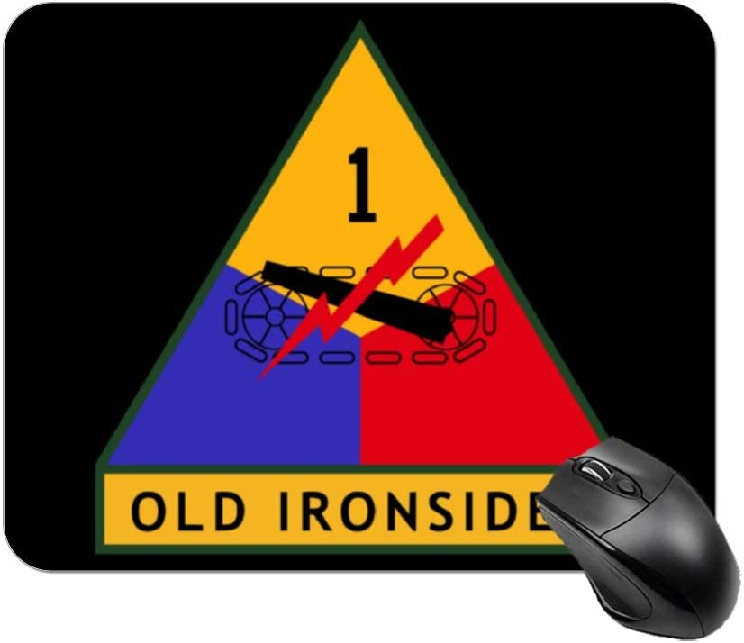 1st Armored Division Mouse Pad Non-Slip Rubber Mouse pad Personalized Rectangle Mouse Pad