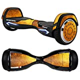 Hoverboard Gold Best Deals - MightySkins Protective Vinyl Skin Decal for Razor Hovertrax 2.0 Hover Board Self-Balancing Smart Scooter wrap cover sticker skins Textured Gold