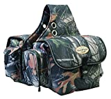 Weaver Leather Trail Gear Saddle Bag, Camo by Weaver Leather