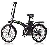 Nakto 20″ 250W Foldaway Electric Bike Sport Mountain Bicycle with Lithium Battery Review