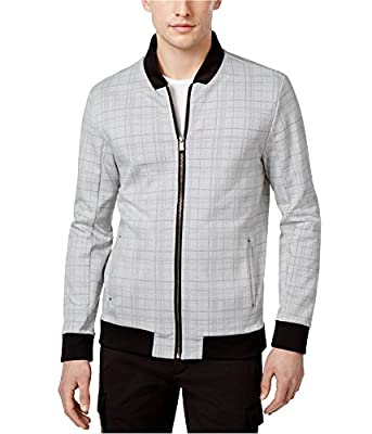 Calvin Klein Men's Classic-Fit Plaid Windbreaker