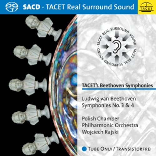 SACD : Ludwig van Beethoven - Symphonies No. 3 & 4 (Hybrid SACD)