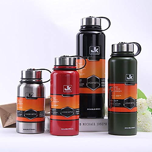 Edelstahl Edelstahl Edelstahl Kettle Sports Bottle Portable für die Arbeit Gym Outdoor Travel große Kapazität B07PZ7VCBY | Wir haben von unseren Kunden Lob erhalten.  9fc53d