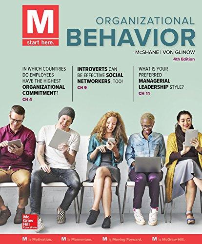 Loose Leaf for M: Organizational Behavior