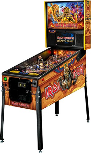 Stern Pinball Iron Maiden Legacy of the Beast Arcade Pinball Machine, Premium Edition