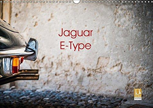 Jaguar E-Type 2018 (Wandkalender 2018 DIN A3 quer): Das schönste Auto der Welt (Monatskalender, 14 Seiten ) (CALVENDO Mobilitaet) [Kalender] [Apr 01, 2017] Sagnak, Petra