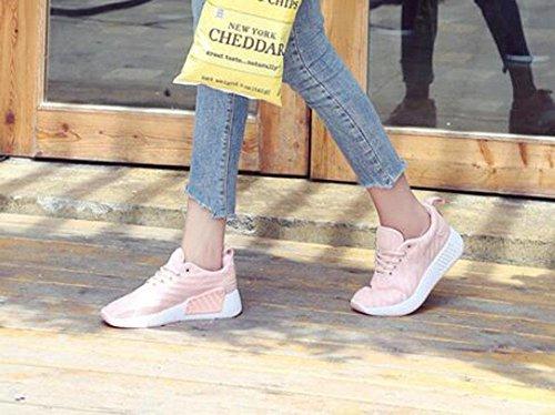 tamaño 11 deportivos zapatos mujer Malla KUKI ocio para gran de y transpirable de qIFnwR4U