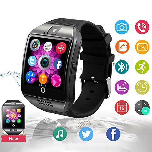 Bluetooth Smart Watch Touchscreen Phone with SIM Card Slot, Waterproof Smartwatch for Android and iPhone Smart Wrist Watch for Kids Men Women by Hathow