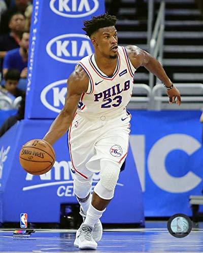 (Jimmy Butler Philadelphia 76ers 2018-19 NBA Action Photo (Size: 11
