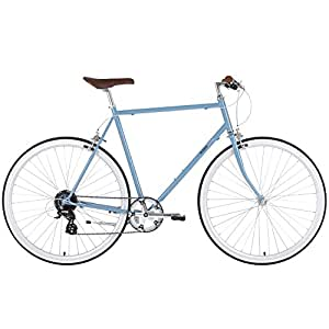 BOBBIN Noodle Bicicleta Urbana, Unisex Adulto, Azul (Moody Blue), 56
