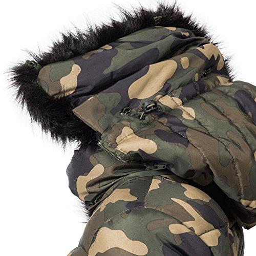 Navahoo damen jacke winterjacke steppjacke adele