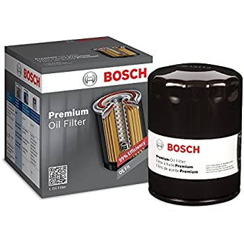 Bosch 3330 Premium FILTECH Oil Filter for Select Audi, Ford, Lexus, Lincoln, Volkswagen + More