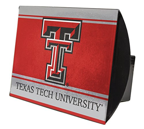 (TEXAS TECH RED RAIDERS METAL TRAILER HITCH COVER-TEXAS TECH HITCH COVER)