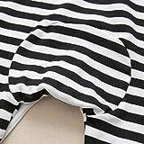 Luckyauction Baby Boys Girls Long Sleeve Stripe