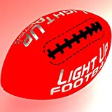 Light Up Action Football Chrome Edition Value Pack