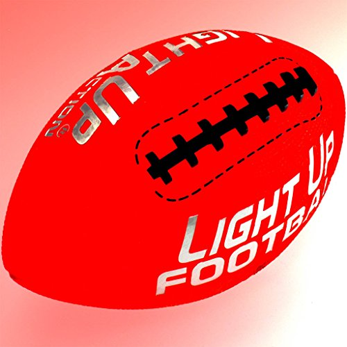 Light Up Action Football Chrome Edition Light Up (Led Light Up Football)