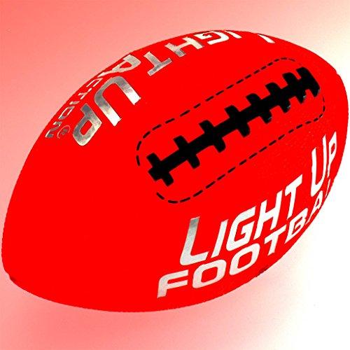 Light Up Action Football Chrome Edition Light Up Football