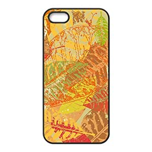 Graffiti Leaves Hight Quality Plastic Case for Iphone 5s by Maris's Diary